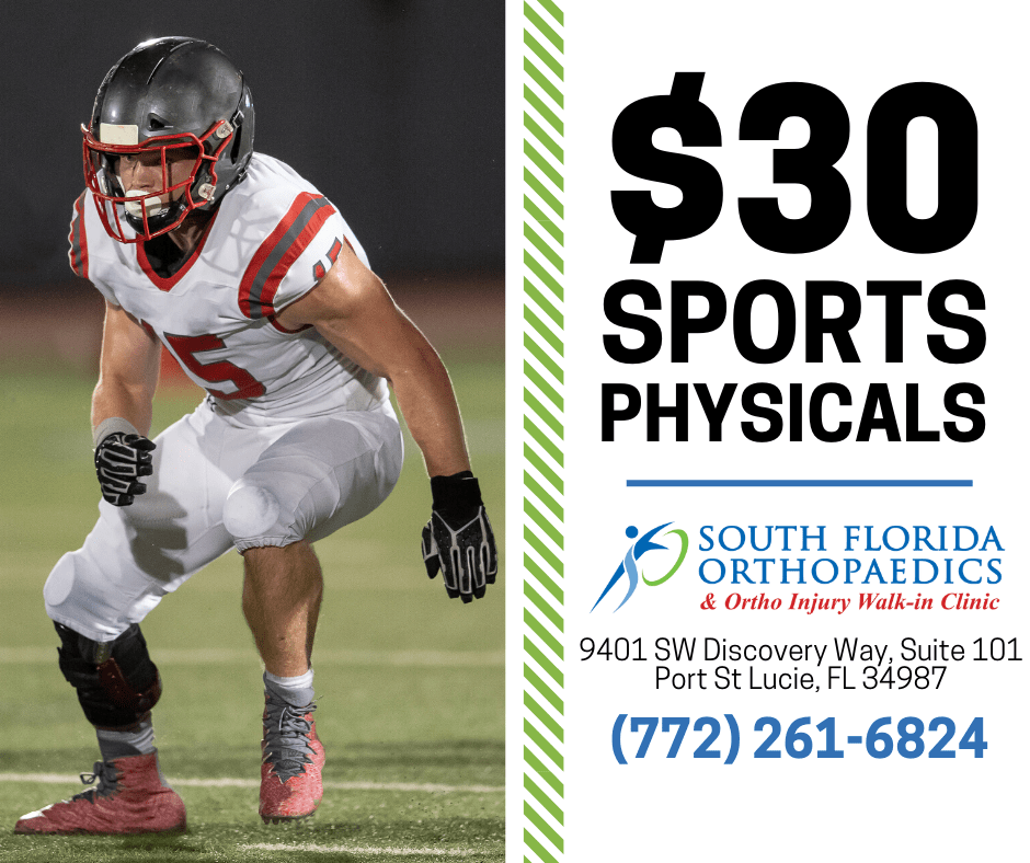 Sports Physicals Promo